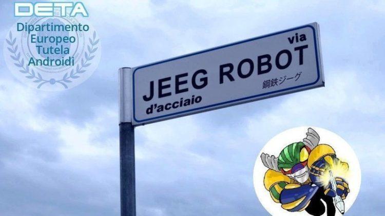 Via Jeeg Robot d'acciaio
